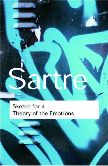 Sketch for a Theory of the Emotions book cover