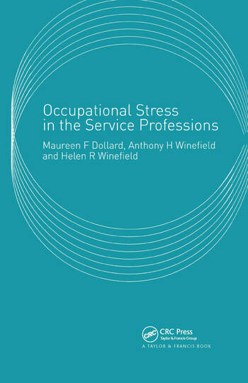 Occupational Stress in the Service Professions book cover