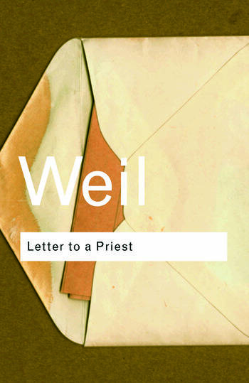 Letter to a Priest book cover