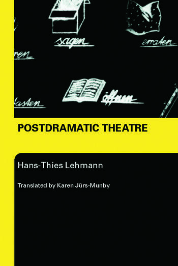 Postdramatic Theatre book cover