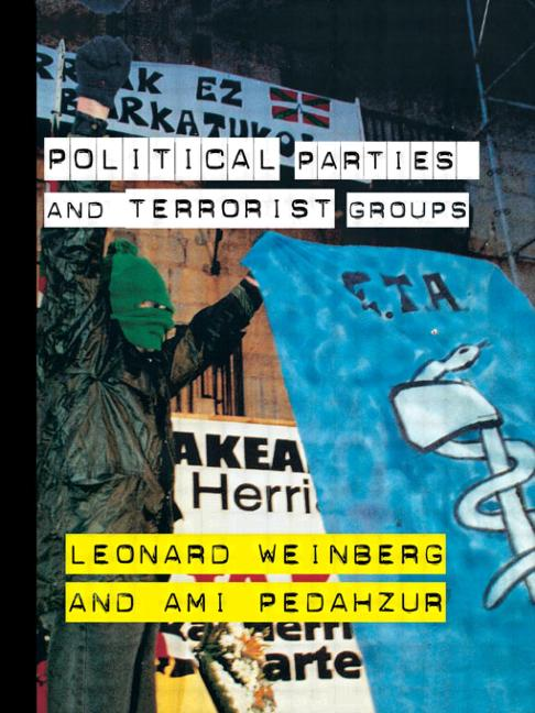 Political Parties and Terrorist Groups book cover