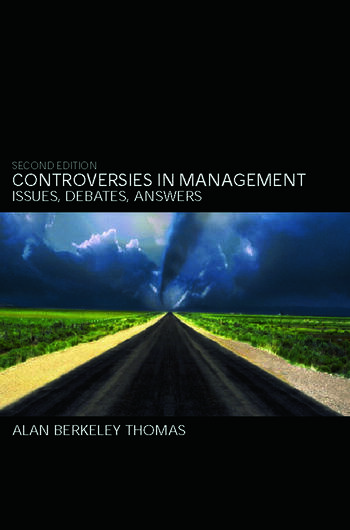 Controversies in Management Issues, Debates, Answers book cover