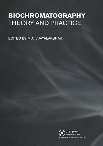 Biochromatography Theory and Practice book cover