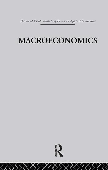 E: Macroeconomics book cover