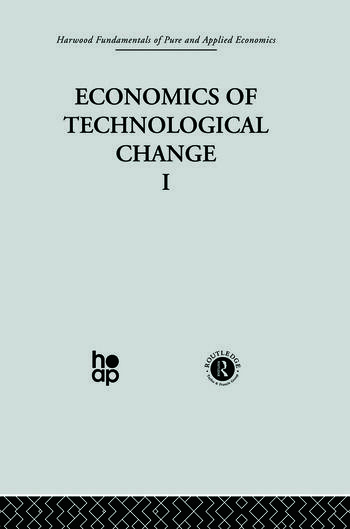 F: Economics of Technical Change I book cover