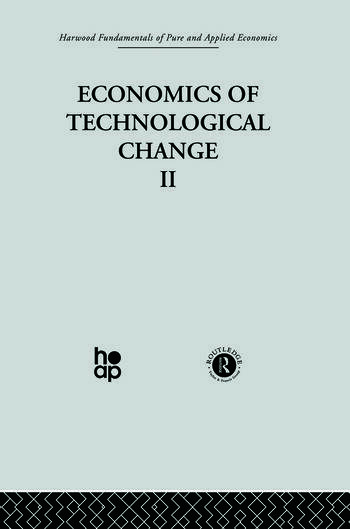 G: Economics of Technical Change II book cover