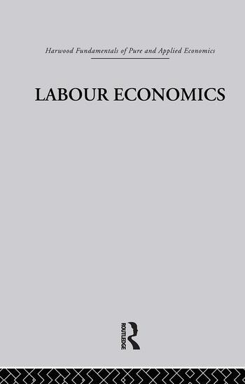 I: Labour Economics book cover