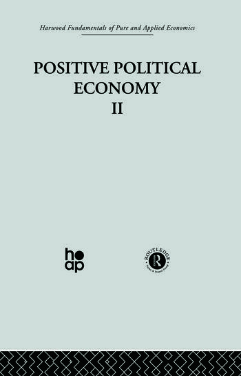 K: Positive Political Economy II book cover