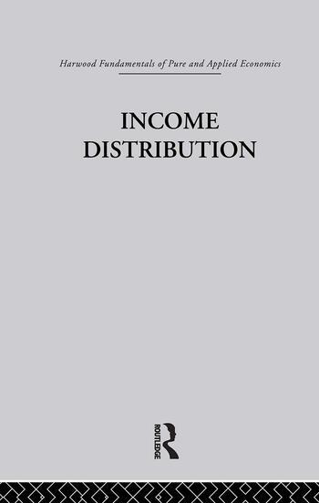 L: Income Distribution book cover