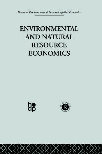M: Environmental and Natural Resource Economics book cover