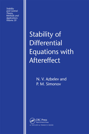 Stability of Differential Equations with Aftereffect book cover