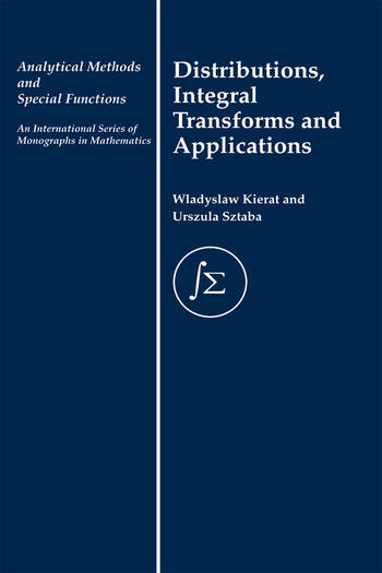 Distribution, Integral Transforms and Applications book cover