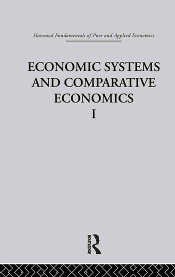 O: Economic Systems and Comparative Economics I book cover