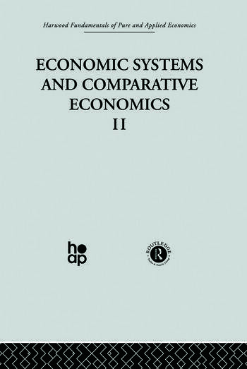 P: Economic Systems and Comparative Economics II book cover
