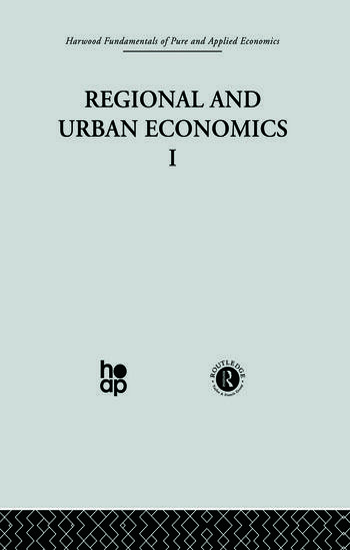 Q: Regional and Urban Economics I book cover
