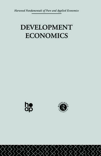 S: Development Economics book cover