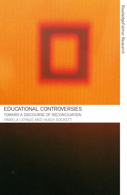 Educational Controversies Towards a Discourse of Reconciliation book cover