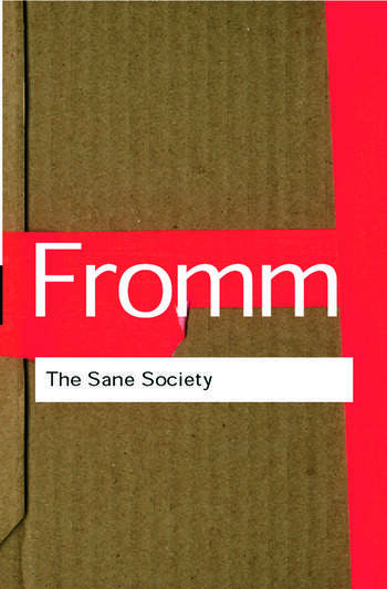 The Sane Society book cover
