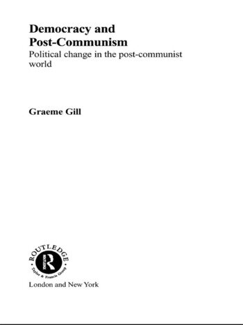 Democracy and Post-Communism Political Change in the Post-Communist World book cover