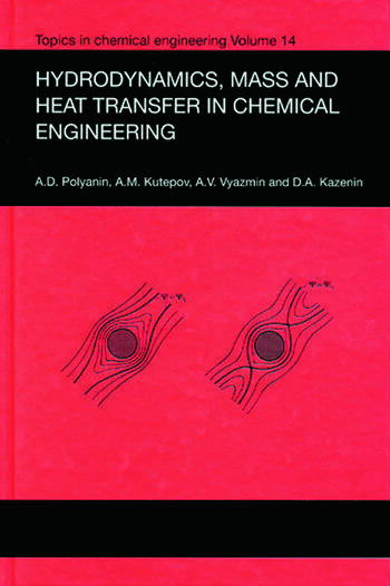 Hydrodynamics, Mass and Heat Transfer in Chemical Engineering book cover