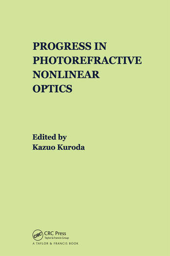Progress in Photorefractive Nonlinear Optics book cover