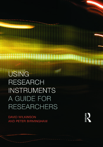 Using Research Instruments A Guide for Researchers book cover