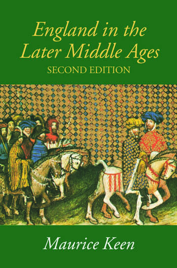 England in the Later Middle Ages A Political History book cover