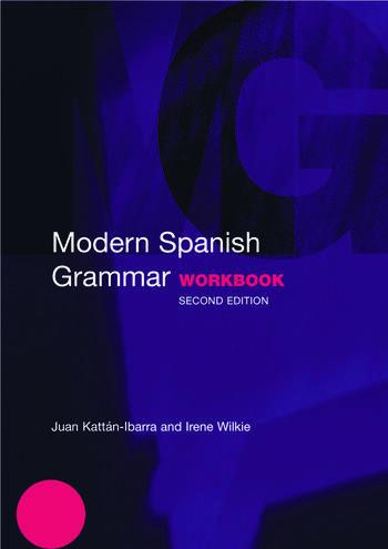 Modern Spanish Grammar Workbook book cover