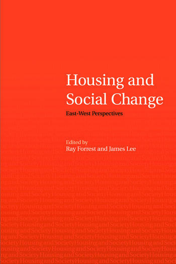 Housing and Social Change East-West Perspectives book cover