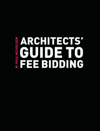 Architects' Guide to Fee Bidding book cover