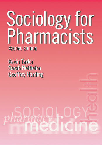 Sociology for Pharmacists An Introduction book cover