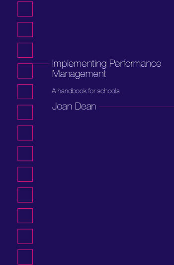 Implementing Performance Management A Handbook for Schools book cover