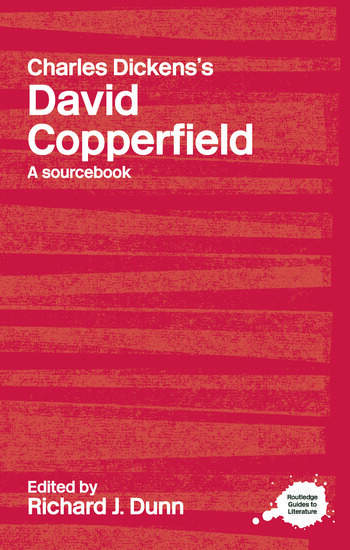 Charles Dickens's David Copperfield A Routledge Study Guide and Sourcebook book cover