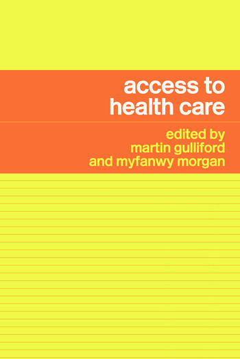 Access to Health Care book cover