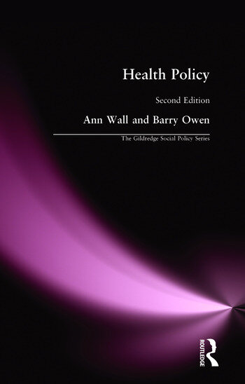 HEALTH POLICY book cover