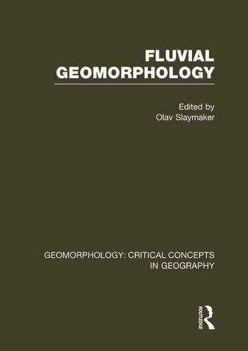 Fluv Geom: Geom Crit Conc Vol book cover