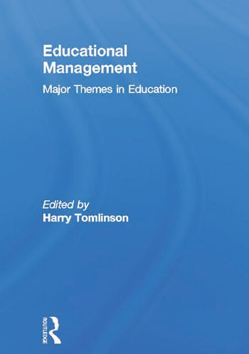 Educational Management Major Themes in Education book cover