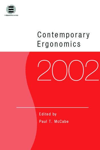 Contemporary Ergonomics 2002 book cover