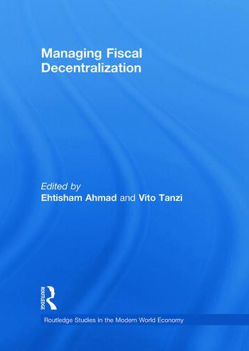 Managing Fiscal Decentralization book cover