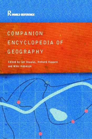 Companion Encyclopedia of Geography The Environment and Humankind book cover