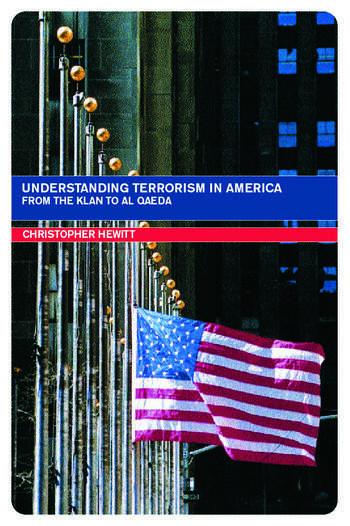 Understanding Terrorism in America book cover