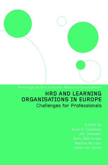 HRD and Learning Organisations in Europe book cover