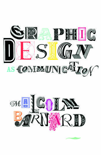 Graphic Design as Communication book cover