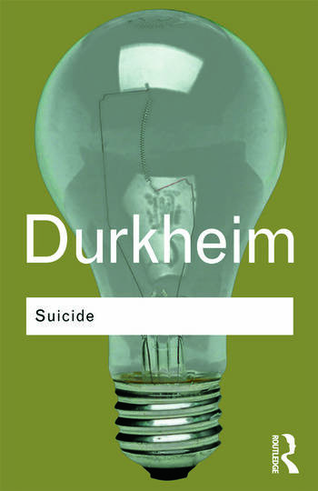 Suicide A Study in Sociology book cover