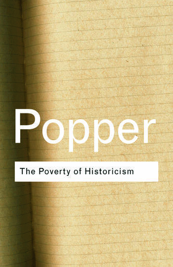 The Poverty of Historicism book cover