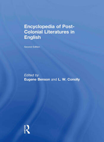 Encyclopedia of Post-Colonial Literatures in English book cover