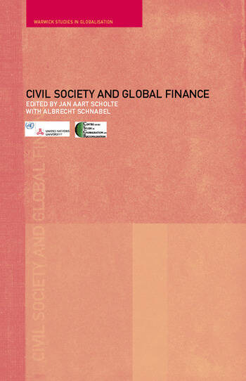Civil Society and Global Finance book cover