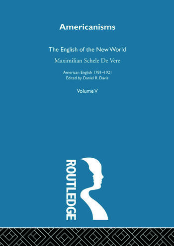 Americanisms:English New World book cover