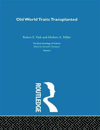 Old World Traits Transpl:Esc V book cover