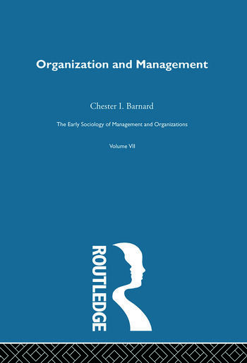 Organization and Management Selected Papers book cover